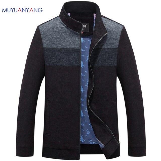 Mu יואן יאנג 2020 סתיו וחורף עבור זכר צמר ותערובות 50% הנחה גברים של צמר תערובת מעילים מקרית mens צמר מעילי מעיל