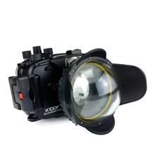 Seafrogs 40m/130ft Underwater Camera Housing Case For Fujifilm X100F Camera+MEIKON 67mm Fisheye Lens -Round цена в Москве и Питере