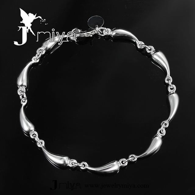 Casual design plus size bangle bracelet nine cute waterdrop chain bracelet SPCH322