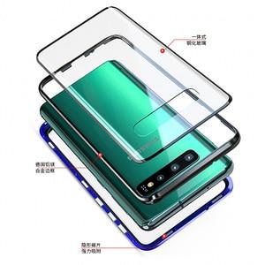 Image 3 - Чехол Conelz для Samsung Galaxy S10 5G S9 S8 Plus S10e Note 9 Note 8 с магнитной застежкой спереди и сзади, защитный чехол для телефона