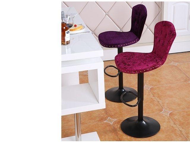 Tienda Online Amarillo Orange color taburete pu cuero asiento ...