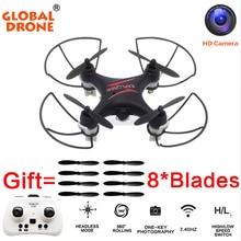 Глобальный GW009C 4 Канала MIcro Drone Drone С Камерой Quadcopter Дрон Вертолет Мини RC Дроны D Квадрокоптер RC ПРОТИВ CX-звезда