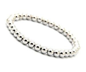 Image 5 - Ailatu 10 pièces/lot 6mm Rose et couleur or plaqué perles de cuivre rondes hommes femme cadeau danniversaire Bracelet extensible bijoux