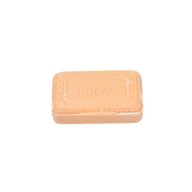 Sandalwood Handmade Soap Oil-control Whitening Deep Cleaning Hand Face Body Washing Soap 25g Bee Flower Essence Soap 3
