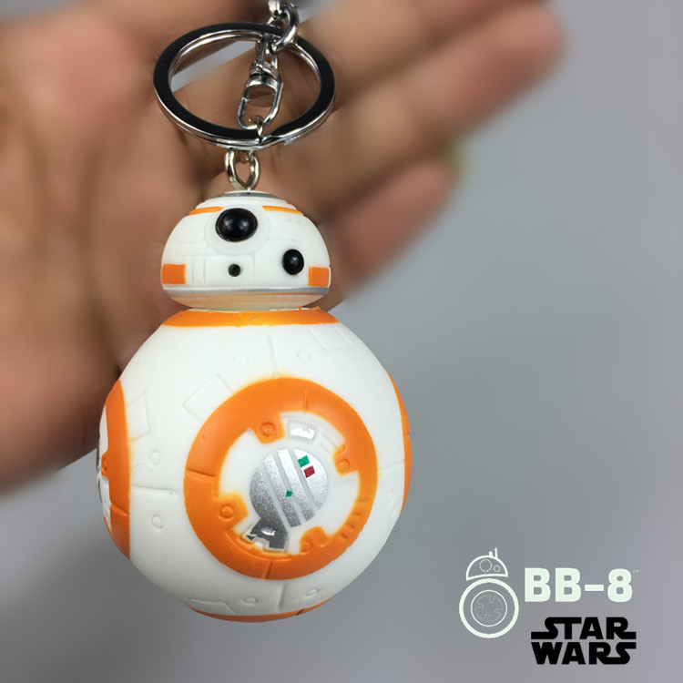 Star Wars Action Figure BB-8 Keychain Pendant Toy Christmas Tree Ornament BB8