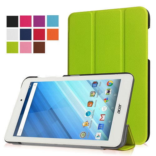Smart PU leather cover case stand folio cover case protective cover case for 2016 Acer Iconia One 8 B1-850 8 tablet+free gift magnetic smart pu leather cover case stand cover case for 2016 acer iconia tab 10 a3 a40 tablet acer a3 a40 stylus gift