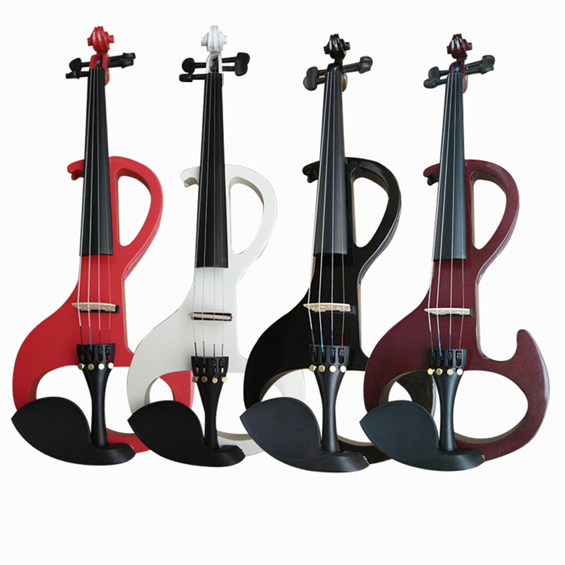 Real shot three color optional violin all handmade high end violin electroacoustic violin