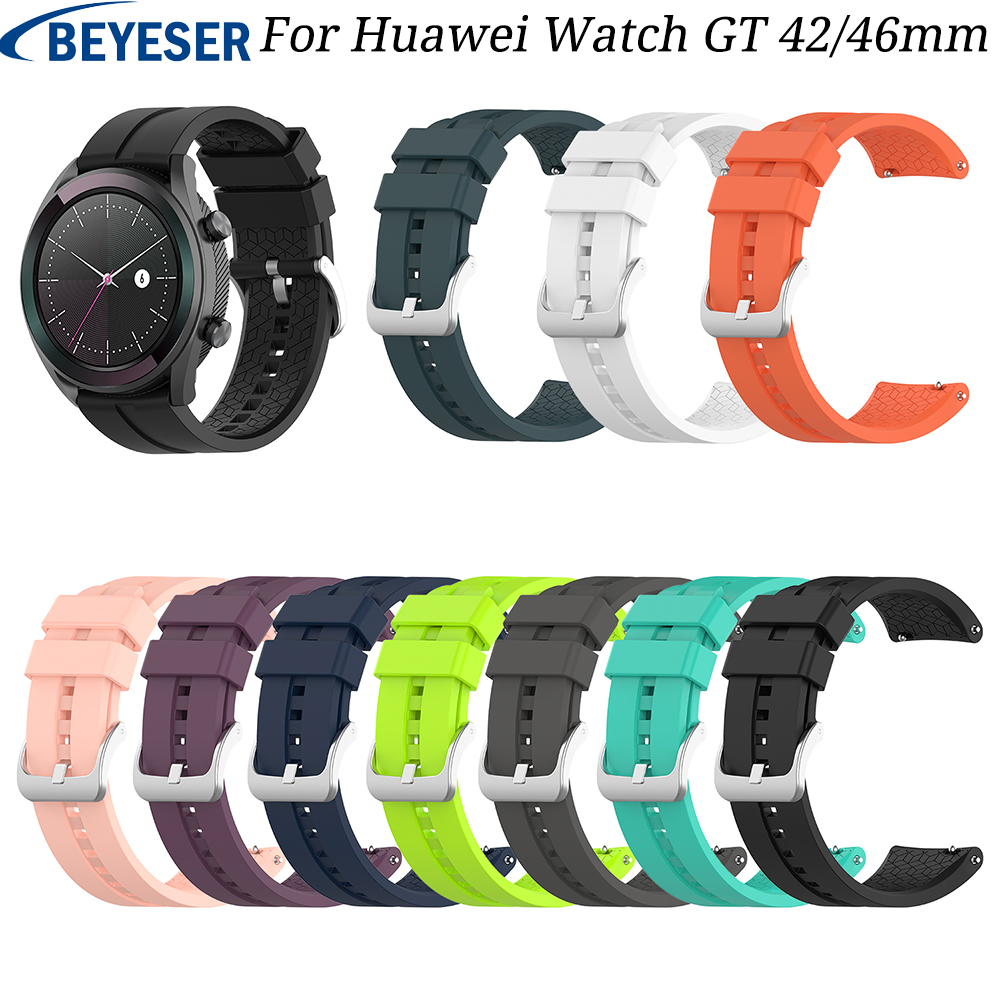 Gear S3 Frontier Band For Samsung Galaxy Watch Strap 20 22mm Silicone Watchband Bracelet Huawei Watch Gt 42 46 Mm Strap S2 Sport