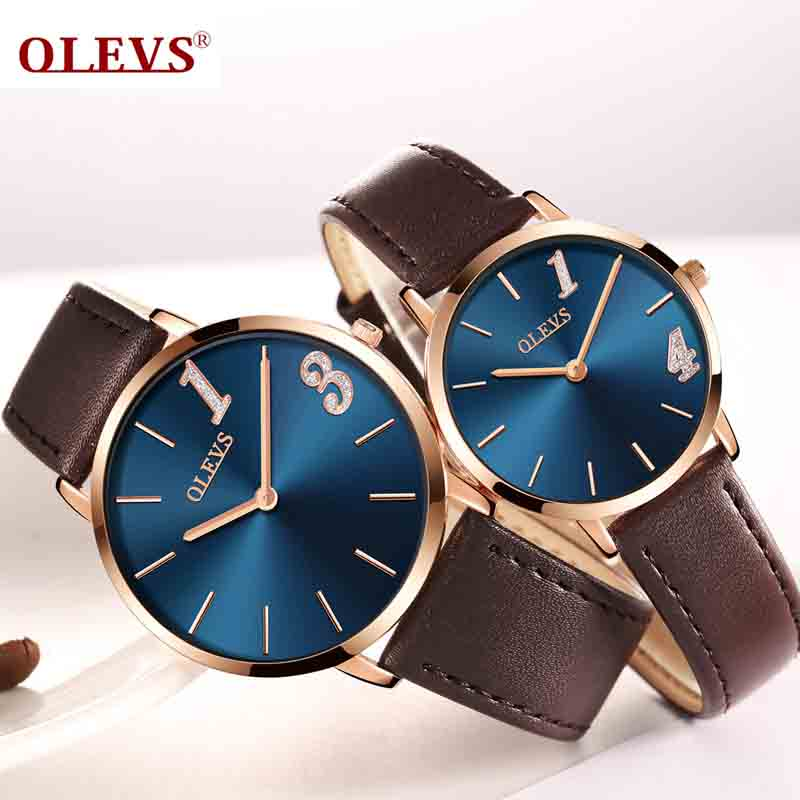 Ultra thin Couple watches 2018 Top brand Luxury Genuine Leather Casual Quartz Waterproof Wrist Watch for Lover Relogio MasculinoUltra thin Couple watches 2018 Top brand Luxury Genuine Leather Casual Quartz Waterproof Wrist Watch for Lover Relogio Masculino