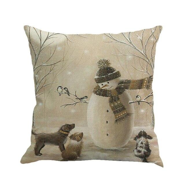Gajjar Cuscino Causa 45*45 Copertura del Cuscino cuscini decorativi Di Natale Ti