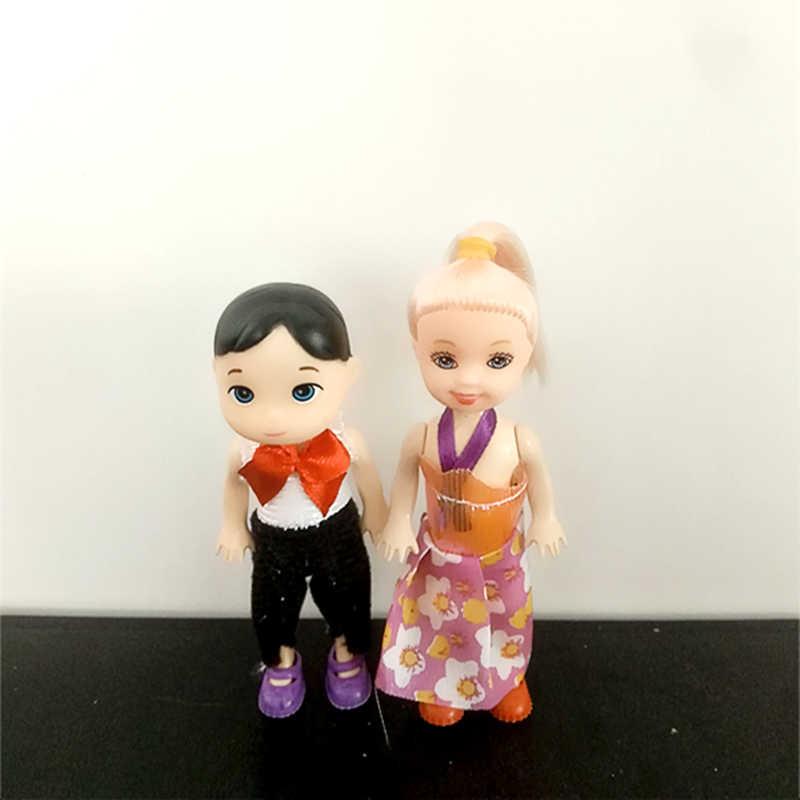 1 комплект DIY Красочные Волосы Настоящие беременных мама куклы у ребенка В ЖИВОТИКЕ для маленькая тележка куклы мальчиков, девочек Детская игрушка подарок