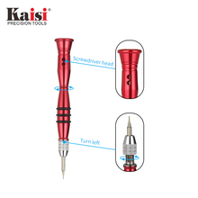 Kaisi Precision Dismountable Double Head Screwdriver Opening Repair Tools For Phone K-P8708