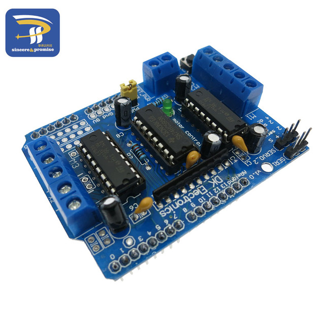 Motor-driven expansion board L293D motor control shield for arduino Duemilanove, Mega 2560 and UNO