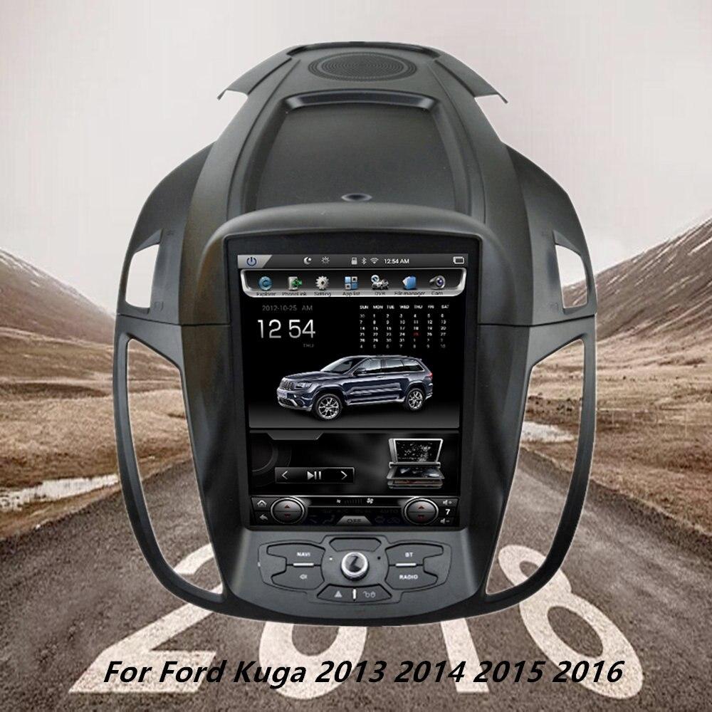 10,4 вертикальная Экран Android6.0 автомобиля радио gps мультимедийный плеер для Ford Kuga 2013 2014 2015 2016 Auto навигации стерео 2 грамма