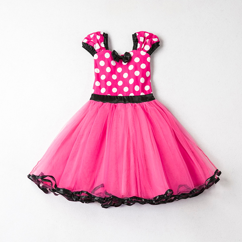 HTB10w0paojrK1RkHFNRq6ySvpXaU Fancy New Year Baby Girl Carnival Santa Dress For Girls Summer Minnie Mouse Holiday Children Clothing Party Tulle Kids Costume