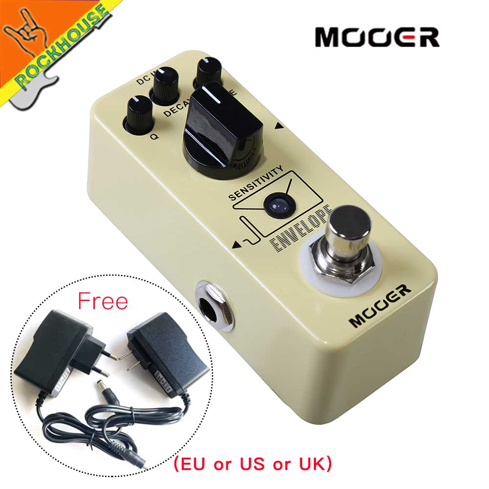 Mooer Envelope Analog Filter Guitar Pedal Auto Wah Guitar Effects Pedal with Q DECAY TONE Control Free Shipping new effect pedal mooer envelope auto wah filter dynamic auto wah pedal with big tone and lots of versatility