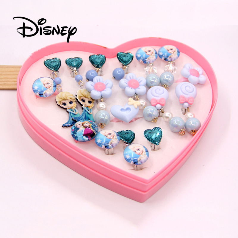 Toys & Hobbies Hearty Disney 11pcs/set Pretend Play Princess Earrings Ring Beauty Toy Gift Set Ear Clip Pendant To Give Girls The Best Gift Be Friendly In Use