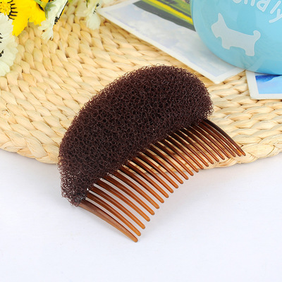 New Arrival Fashion Comb Women Hair Styling Clip Plastic Stick Bun Maker Tool Hairpin Hair Accessories