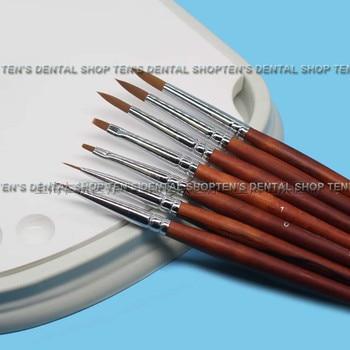 2018 high quality 1 sets Porcelain pen Glazed pen Dental technician tools