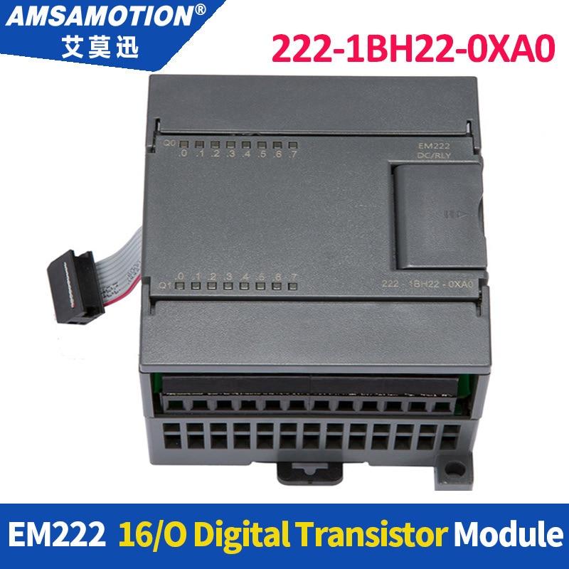 Amsamotion EM222 6ES7 222-1BH22-0XA0 16Output 24V DC Digital Module 222-1HH22-0XA0 222-1BL22-0XA0 For Siemens S7-200 PLC цена