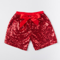 Free shipping new arrival baby red sequin summer shorts Baby girls bling sequin short pants Kids sequin garments KP-SEQUS10