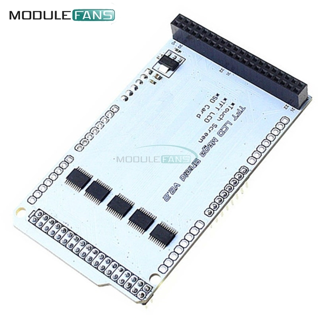 TFT LCD Shield Expansion Board Module For Arduino TFT01 Mega Touch LCD Support TFT 3.2'' 4.3'' 5.0'' 7.0''