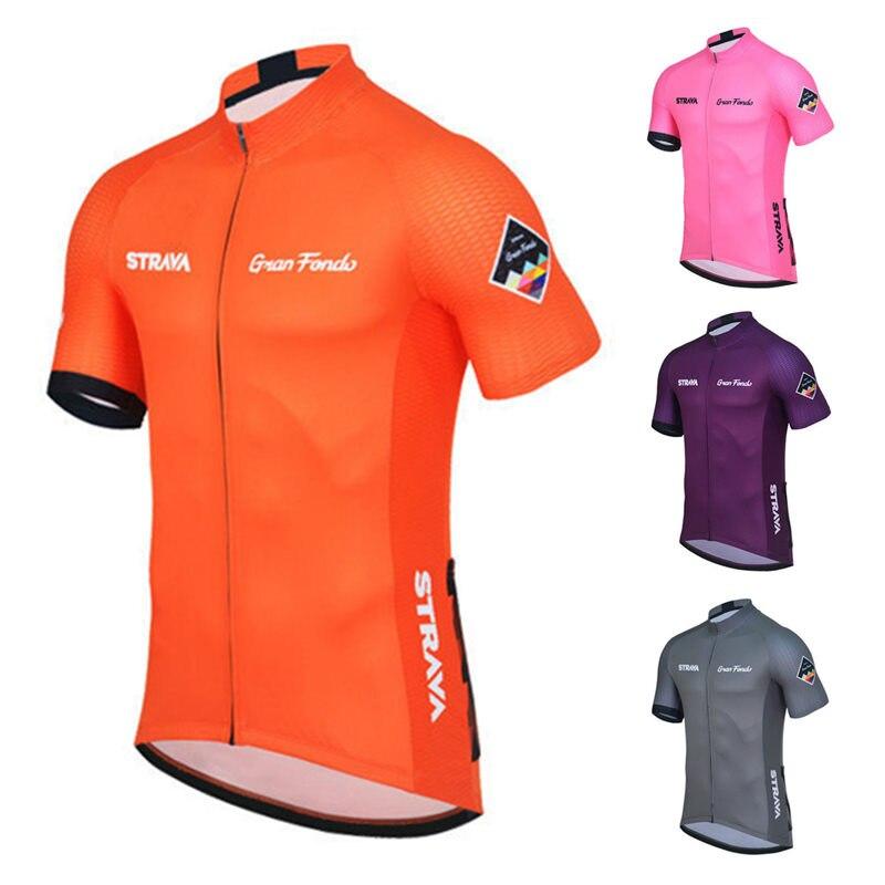 Unique Mens Road Cycling Bike Jerseys Bike Riding Jersey Shirt MTB Clothing Tops