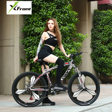 New brand carbon steel 26 inch wheel 27/30 speed disc brake mountain bike outdoor sport bicicleta damping bicycle
