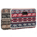 Cute Elephant pattern Laptop Sleeve Case 10,11,12,13,14,15 inch Computer Bag, For Notebook,For ipad,Tablet, For MacBook
