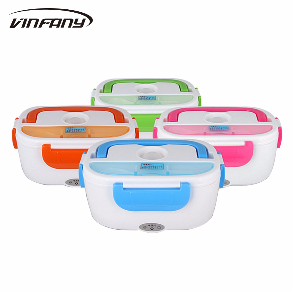 NEW high quality 220V Electric Heating Lunch Box thermos for kids Portable Bento Meal Heater Food Warmer 45W
