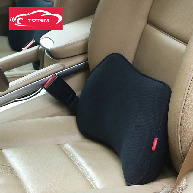 Memory Foam Car Lumbar Pillow Cushion Auto Back Support Chair For Office Home
