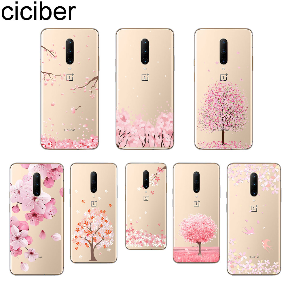 ciciber Flower Floral Phone Case For font b Oneplus b font font b 7 b font