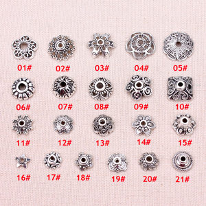 100pcs/lot The silver beads ca