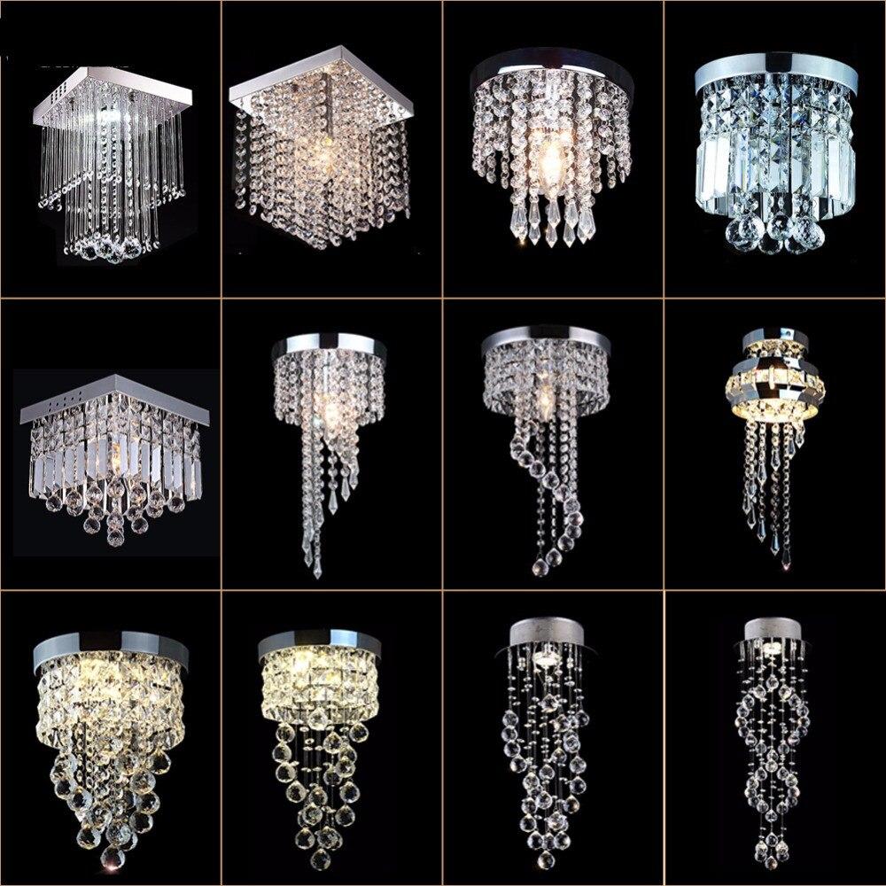 Modern Crystal Chandelier Light LED Lamp Lustre Chandeliers Lighting Hanging Ceiling Fixtures Pendant Luminaire For Living RoomModern Crystal Chandelier Light LED Lamp Lustre Chandeliers Lighting Hanging Ceiling Fixtures Pendant Luminaire For Living Room