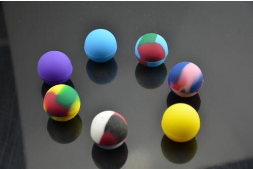 Silicone wax case Container Round Box for Wax Dry Herb Electronic cigarette Solid oil Box e cig cigaette