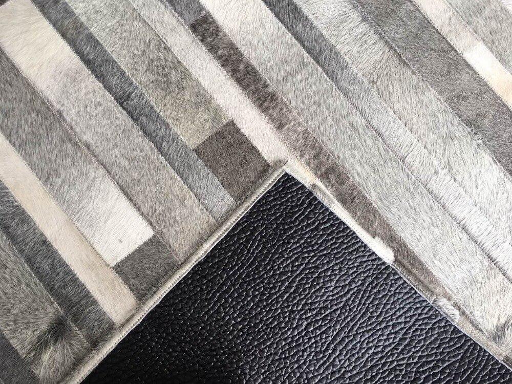 Fußboden Teppich Terbaru ~ Natürliche grau kuhfell echte kuh pelz bereich teppich für