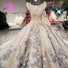 AIJINGYU のウェディングドレス黒のガウンプラスサイズの花嫁インドネシアカスタムドバイ二枚で格安ブライダルドレス