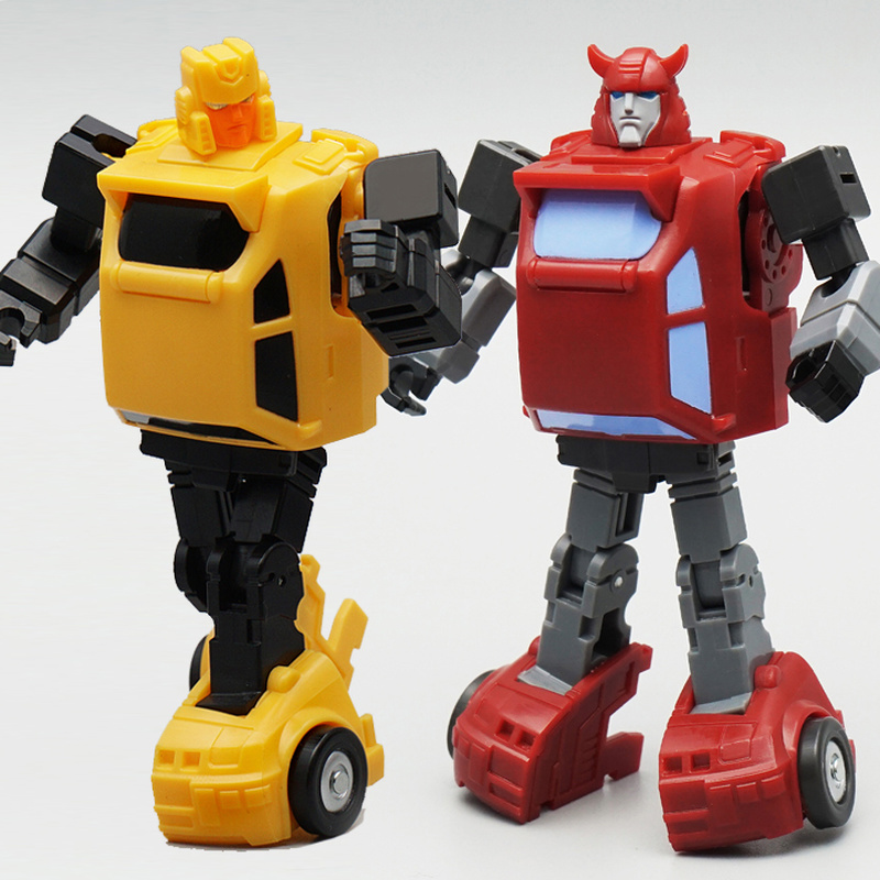 Transformation G1 Hot Solider Cliffjumper & Hubcap Sets HS15 HS-15 HS16 HS-16 Pocket War Series Action Figure Robot kids toys цена