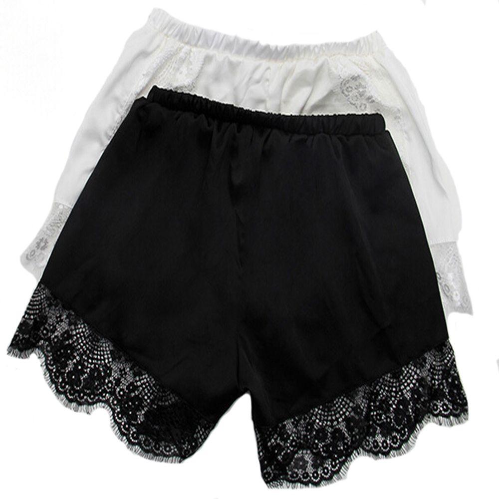 1 Pcs Mode Damen Sexy Sicherheit Shorts Sommer Frauen Dessous Hohe Taille Elastische Spitze Casual Unterwäsche