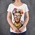 Fashion Tees Sexy Women 3D Flowers Print T Shirt Women T Shirt Short Sleeve Shoulder Casual tshirt Summer Style Vogue T-shirt