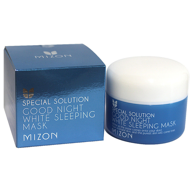 MIZON Good Night White Sleeping Mask 80g Facial Mask Skin Care Moisturizing Anti aging Face Lifting Firming Korean Face Mask