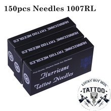 Tattoo Needles 150PCS Professional Tattoo Needles 1007RL Disposable Sterilze Round Liner Tattoo Needles For Tattoo Body Art