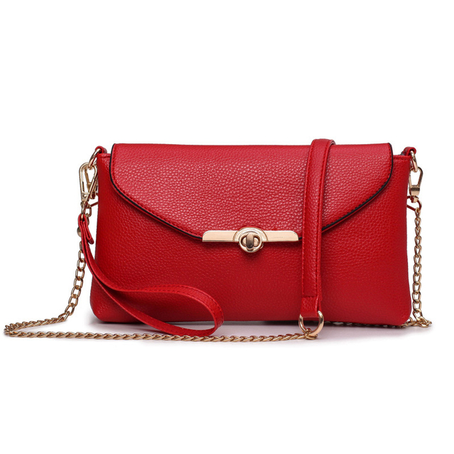 Las Shoulder Bags Cute Fashion Small Female Crossbody Bag Long Strap Messager Pu Leather