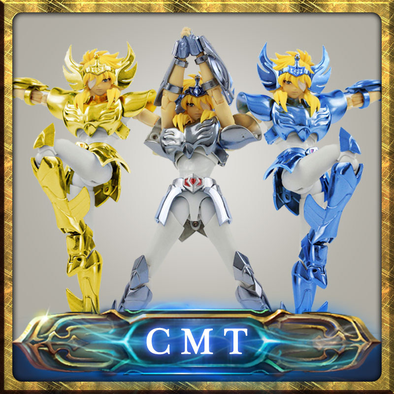 цена на CMT In stock Cygnus HYOGA final Cloth EX metal armor GREAT TOYS GT EX Bronze Saint Seiya Myth Cloth Action Figure