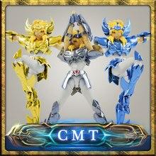 CMT In stock Cygnus HYOGA final Cloth EX metal armor GREAT TOYS GT EX Bronze Saint Seiya Myth Cloth Action Figure