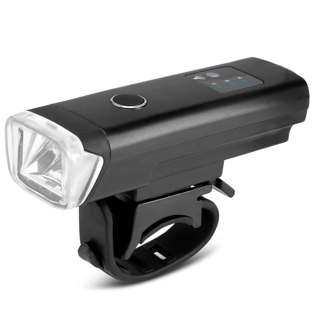 Wasserdicht Radfahren Fahrrad Fahrrad Licht USB Aufladbare Bike Lichter Fahrrad Led Front Lichter Lampe Sicherheit Batterie Front Taschenlampe