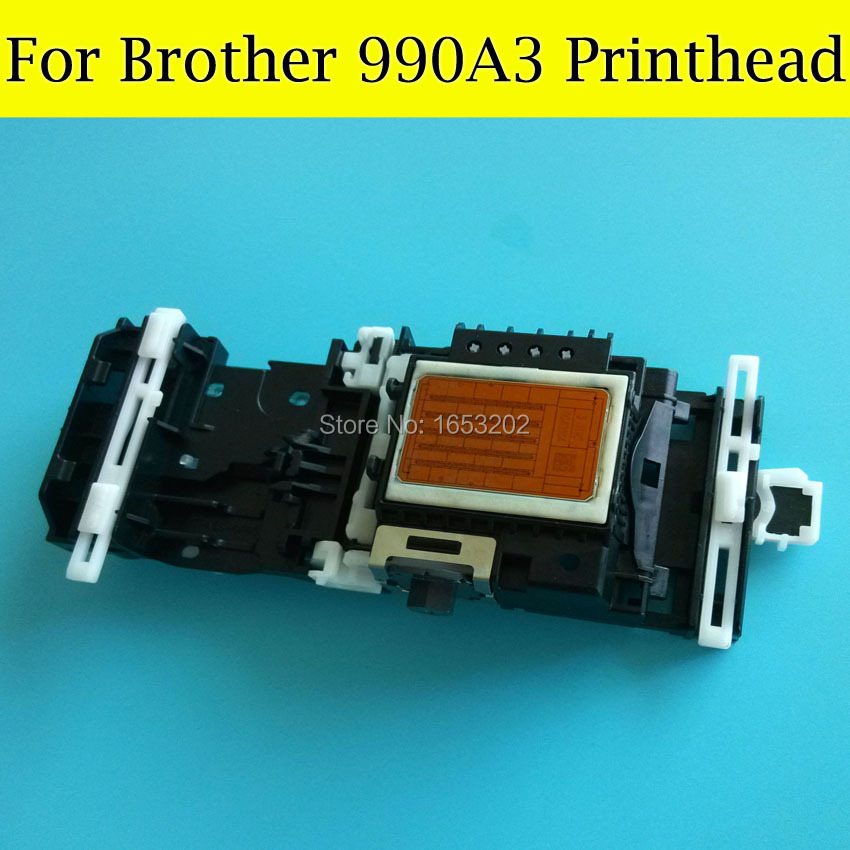 1 PC NEW And Original Printhead 990A3 For Brother Printer MFC5890C 6490C 6690C 6890C Print Head original 990 a3 printhead print head printer head for brother mfc6490 mfc6490cw mfc5890 mfc6690 mfc6890 mfc5895cw printer