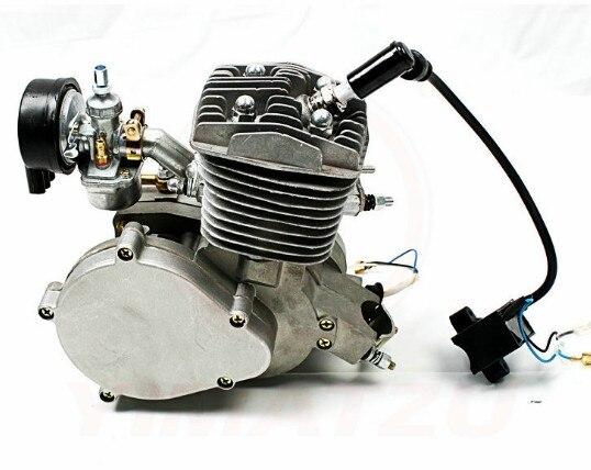 DIY 80cc 2 Hub Motor Motor Komplette Kits Set Für GAS MOTORISIERTE Zyklus Bike Fahrrad Motorrad