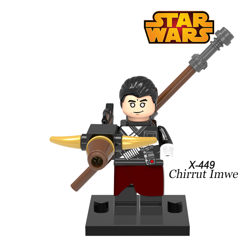 Building Blocks Chirrut Imwe Imperial Hovertank Pilot Rogue One:A Star Wars story Super Heroes diy figures Bricks Kids DIY Toys scott w scott rob roy