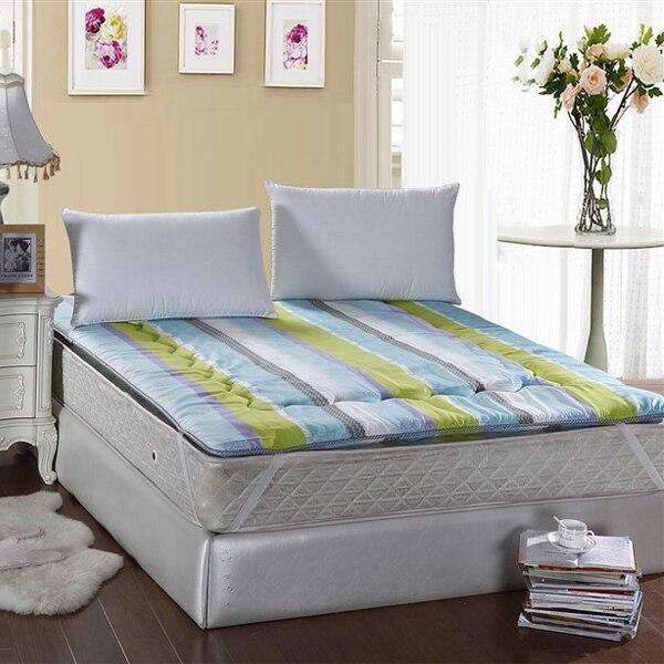 Textile Tatami Sponge Mattress Thickening Folding Bed Hudian Single Double Piates